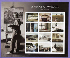 United States. USA 2017.  Andrew Wyeth. Painting. Art. MNH** - Ongebruikt