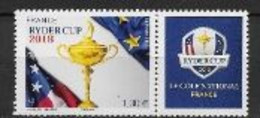France 2018 N° 5245 Neuf France Golf Ryder Cup, à La Faciale + 10% - Ungebraucht