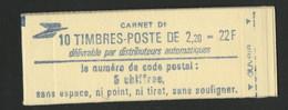 N° 2376 - C1 Cote 14 € Vendu à La Valeur Faciale 3,35 € Carnet Fermé De 10 TP à 2,20 Fr Rouge LIBERTE DE GANDON. TB - Definitives