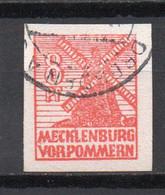 - ALLEMAGNE / ZONE SOVIETIQUE / MECKLEMBOURG-POMERANIE / Mecklenburg-Vorpommern N° 39 Oblitéré - Cote 50,00 € - - Zone Soviétique
