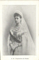 S.M. L'Imperatrice De Russie RV - Koninklijke Families
