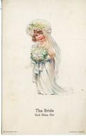 107A....Edward Gross. THE BRIDE. God Bless Her - Altre Illustrazioni