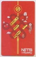 Singapore Cash Card Transport Used Gemalto Cashcard - Altri