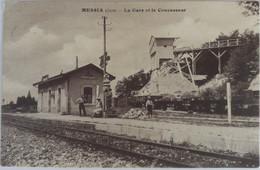 Messia  (Jura) - La Gare Et Le Concasseur - Autres Communes