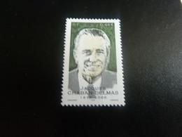 Jacques Chaban-Delmas  (1915-2000) Politique - 3f. (0.46€) - Multicolore - Neuf Sans Charnière - Année 2001 - - Nuovi