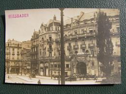 Carte Photo WIESBADEN Palast Hotel  Josef Poehlmann - Wiesbaden
