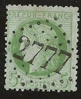 France Losange GC 2777 Pamiers / YT 53g - 1871-1875 Ceres