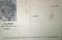 H 5 Lettre/ Document/ Carte Fm Tchéque Neuve - Guerre De 1939-45