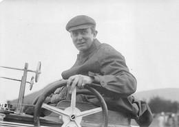 """CANNES - Meeting D'Aviation - Le Pilote HAYDEN SANDS à Bord De Son Monoplan """"Antoinette"""" Photo Originale 1910 - Aviación"""