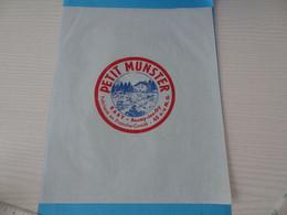 Emballage De Petit Munster Raby Bucey Les Gy Franche Comté - Cheese