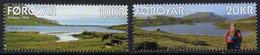 Faroe Islands 2018. Lakes. Landscapes.  MNH** - Faeroër
