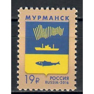 🚩 Discount - Russia 2016 Coats Of Arms Of The City Of Murmansk  (MNH)  - Coats Of Arms - Autres