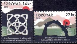 Faroe Islands 2018. Fuglafjørður Municipality.  MNH** - Faeroër