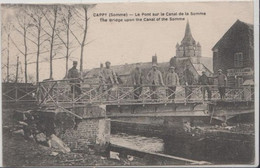 Cappy- Le Pont Sur Le Canal De La Somme - Autres Communes