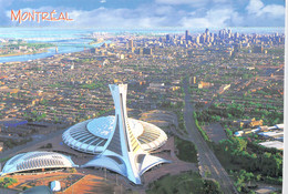 Canada Postcard Montreal,  Biodeme, Stade Olympique Posted 2014 (DD26-51) - Montreal