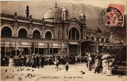CPA AK MONACO - Monte Carlo - Le Cafe De Paris (476647) - Bars & Restaurants