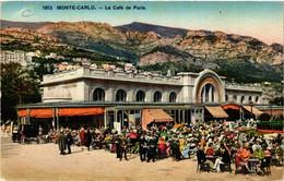 CPA AK MONACO - MONTE-CARLO - Le Cafe De Paris (476741) - Bars & Restaurants