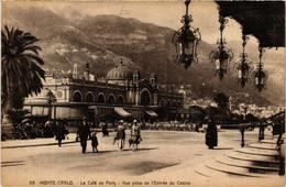CPA AK MONACO - MONTE-CARLO - Le Cafe De Paris (476754) - Bars & Restaurants