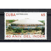 🚩 Discount - Cuba 2001 The 40th Anniversary Of The INDER - National Institute For Sport, Physical Education And - Autres