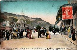 CPA AK MONACO - MONTE-CARLO - Cafe De Paris (477013) - Bars & Restaurants