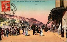 CPA AK MONACO - MONTE-CARLO - Cafe De Paris (477059) - Bars & Restaurants