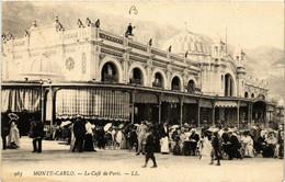 CPA AK MONACO - MONTE-CARLO - Le Cafe De Paris (477149) - Bars & Restaurants