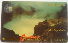 Dominica 4CDMA EC$10 Boiling Lake - Dominica