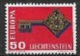 Liechtenstein 1968 Neufs ** N°446  Europa - 1968