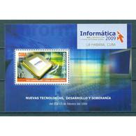 🚩 Discount - Cuba 2009 Informatica - Computer Fair, Havana  (MNH)  - Information, Computers - Blocs-feuillets