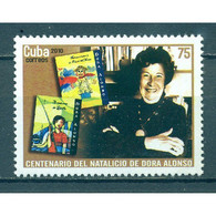 🚩 Discount - Cuba 2010 The 100th Anniversary Of The Birth Of Dora Alonso, 1910-2001  (MNH)  - Famous Women, Writ - Ecrivains