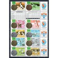 🚩 Discount - Cuba 1996 Cuban Medal Winners At Olympic Games - Atlanta, USA  (MNH)  - Sport, Athletics, Baseball, - Lutte