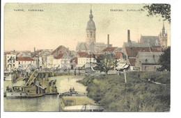 Temse - Panorama - De Schelde. - Temse