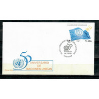 🚩 Discount - FDC 1995 The 50th Anniversary Of The United Nations  (U)  - FDC Cuba - FDC