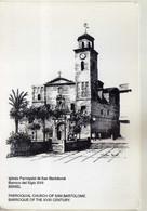 Spain 1995 QSL Cards - Radio Amateur Club Beniel ( Murcia ),Church - Radio Amateur