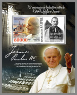 GUINEA REP. 2021 MNH Karol Wojtyla Pope John Paul II. Papst Paul II. S/S - OFFICIAL ISSUE - DHQ2133 - Papes
