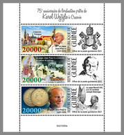 GUINEA REP. 2021 MNH Karol Wojtyla Pope John Paul II. Papst Paul II. M/S - OFFICIAL ISSUE - DHQ2133 - Papes