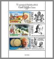 GUINEA REP. 2021 MNH Karol Wojtyla Pope John Paul II. Papst Paul II. M/S - IMPERFORATED - DHQ2133 - Papes