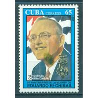 🚩 Discount - Cuba 2001 The 50th Anniversary Of The Death Of Eduardo Chibas, 1907-1951  (NG)  - Revolutionaries - Militaria