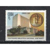 🚩 Discount - Cuba 2001 The 100th Anniversary Of The José Marti National Library  (NG)  - Medals, Jose Marti, Lib - Militaria