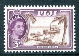 Fiji 1954-59 QEII Definitives - Wmk. Script CA - 3d Loading Copra MNH (SG 285) - Fiji (...-1970)
