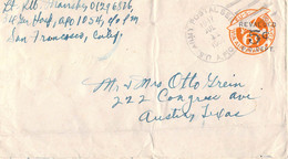 US Modern Field Post: US General Hospital In Seoul, Corea Posted Using A Revalued 5c Postal Stationay Posted APO - Militares
