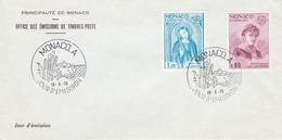 MONACO FDC 1975 EUROPA - FDC