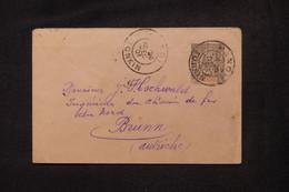 INDOCHINE - Entier Postal Type Groupe De Hanoi Pour L'Autriche En 1901 - L 104116 - Lettres & Documents