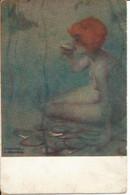 CPA Illustrateur Raphael Kirchner - ONDINE - - Kirchner, Raphael