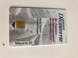 Télécarte Concert Découverte - Musica