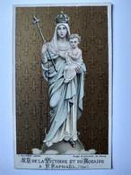 Image Pieuse Religieuse - Notre Dame De La Victoire Et Du Rosaire à St Raphaël (83) Fin XIX ème ? BE - Andachtsbilder