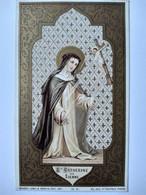 Image Pieuse Religieuse - Ste Catherine De Sienne - Ed. BOUASSE  TBE - Andachtsbilder