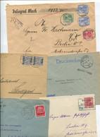 8382) 10 Belege Gesamtdeutschland - Affrancature Meccaniche Rosse (EMA)