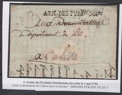 Précurseur Du 12 Germinal De L'an 3 (1/4/1795). Voir Les Scans Tout Est Indiqué. Avec Contenu - 1701-1800: Vorläufer XVIII