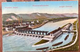 WYHLEN - BADEN - RHEINKRAFTWERKE 1913 - BL Basle-Country